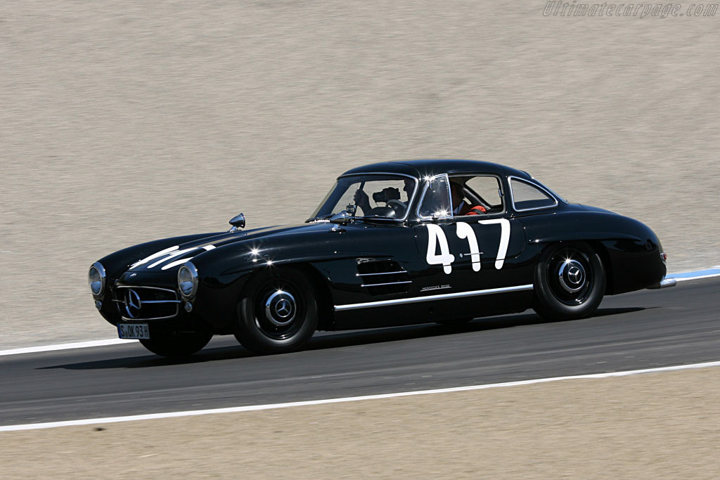 John Fitch / Mercedes-Benz 300 SL    - 2006 Monterey Historic Automobile Races