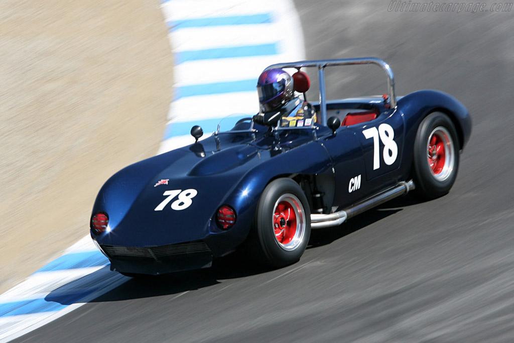 Kellison Corvette    - 2006 Monterey Historic Automobile Races