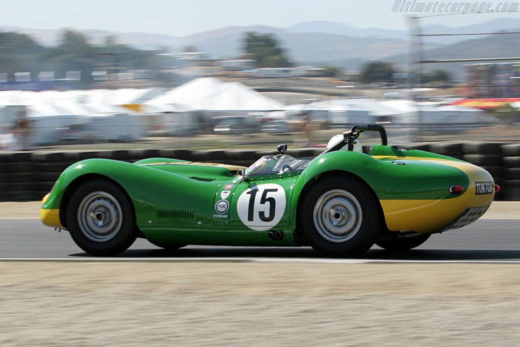 Lister Knobbly Jaguar    - 2006 Monterey Historic Automobile Races