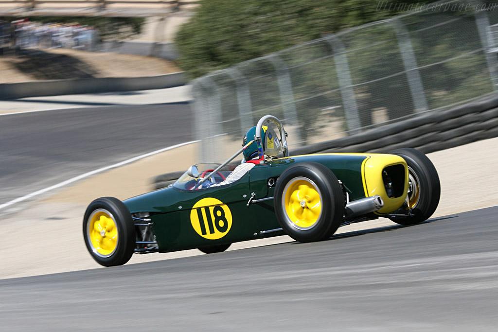 Lotus 18 Formula Jnr    - 2006 Monterey Historic Automobile Races