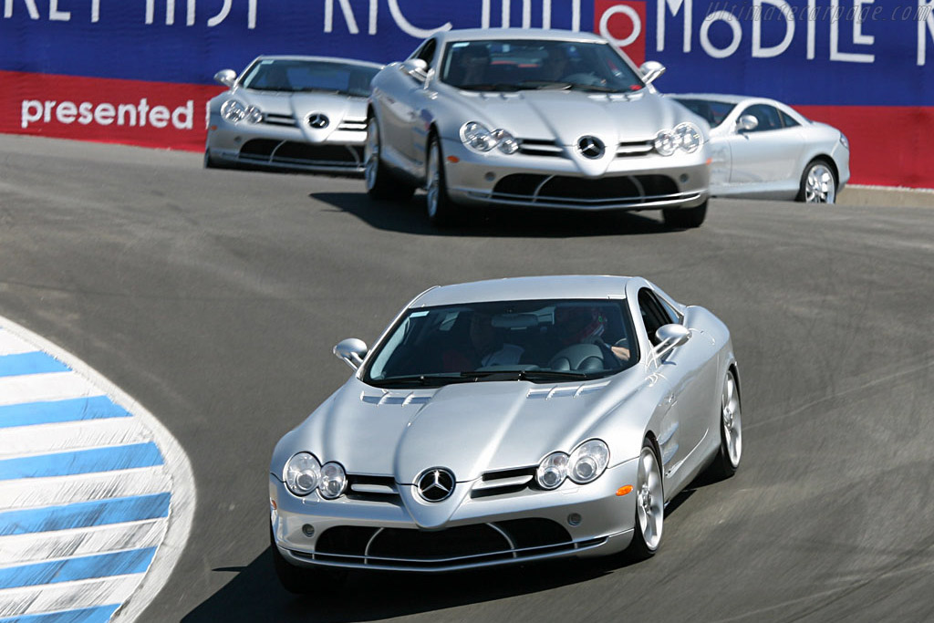 Mercedes-Benz McLaren SLR    - 2006 Monterey Historic Automobile Races
