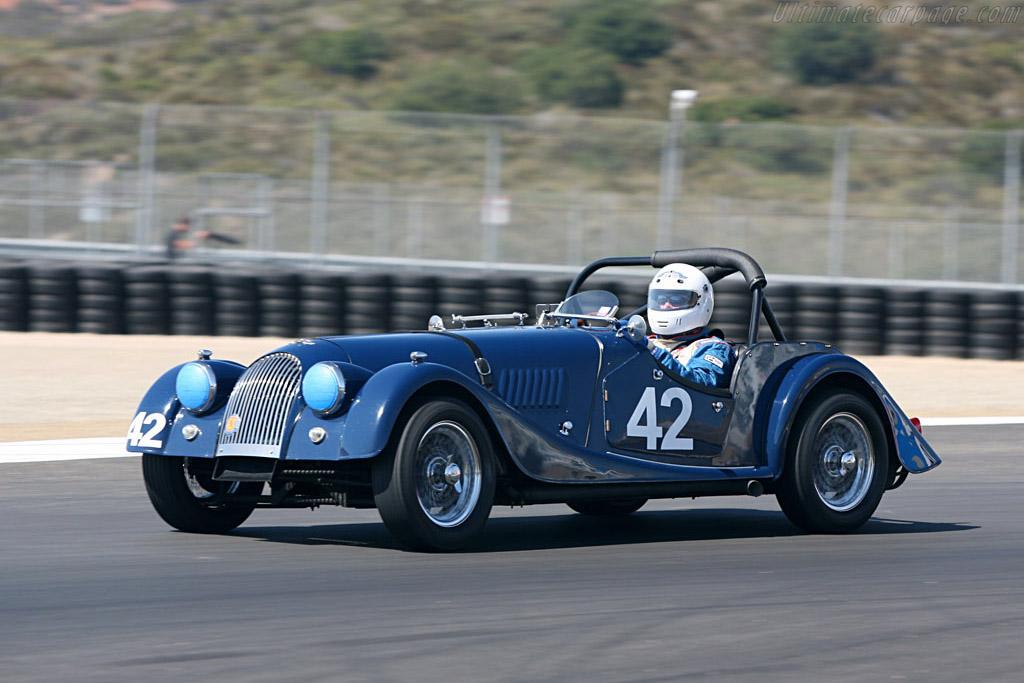 Morgan 4/4    - 2006 Monterey Historic Automobile Races