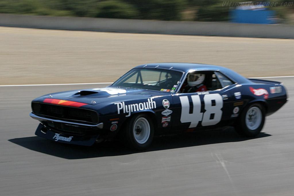 Plymouth Barrcuda    - 2006 Monterey Historic Automobile Races