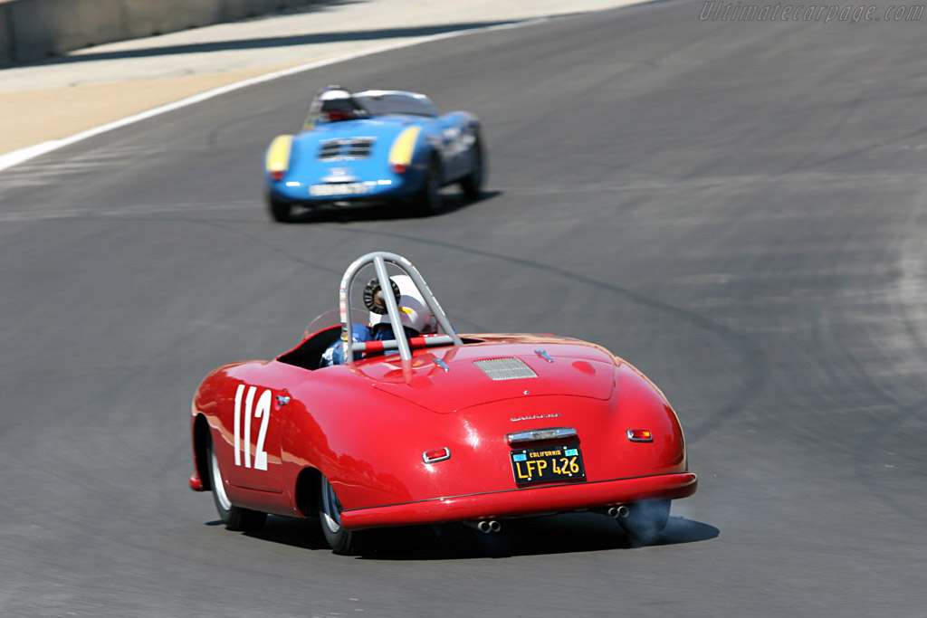 Porsche 356 Sl 2006 Monterey Historic Automobile Races