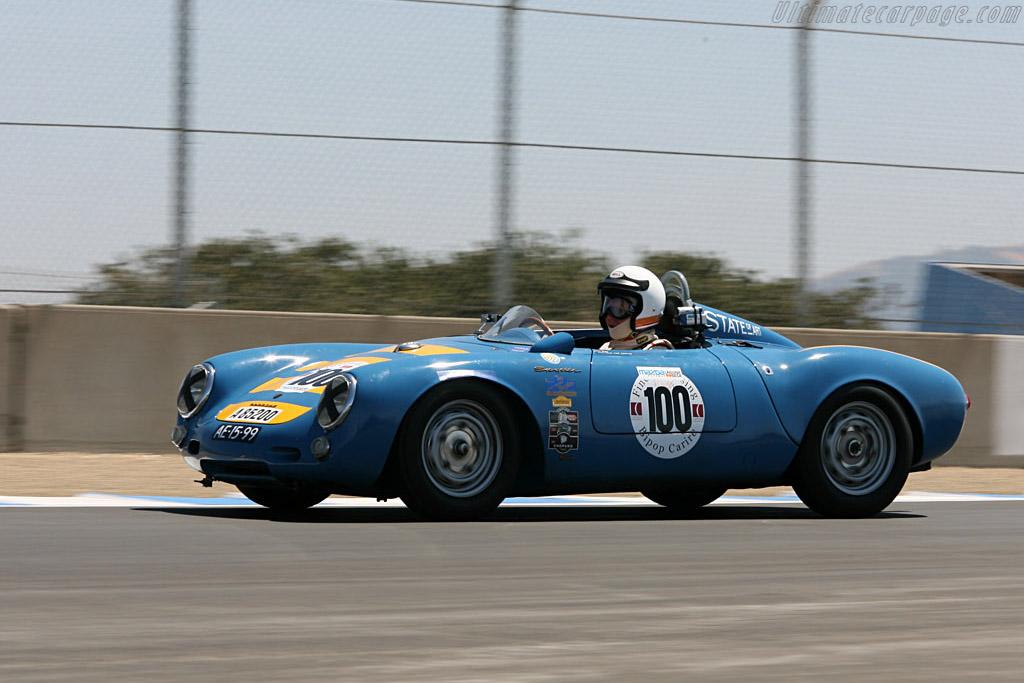 1955 Porsche Spyder >> Porsche 550 - Chassis: 550-0045 - Driver: Gijs van Lennep - 2006 Monterey Historic Automobile Races