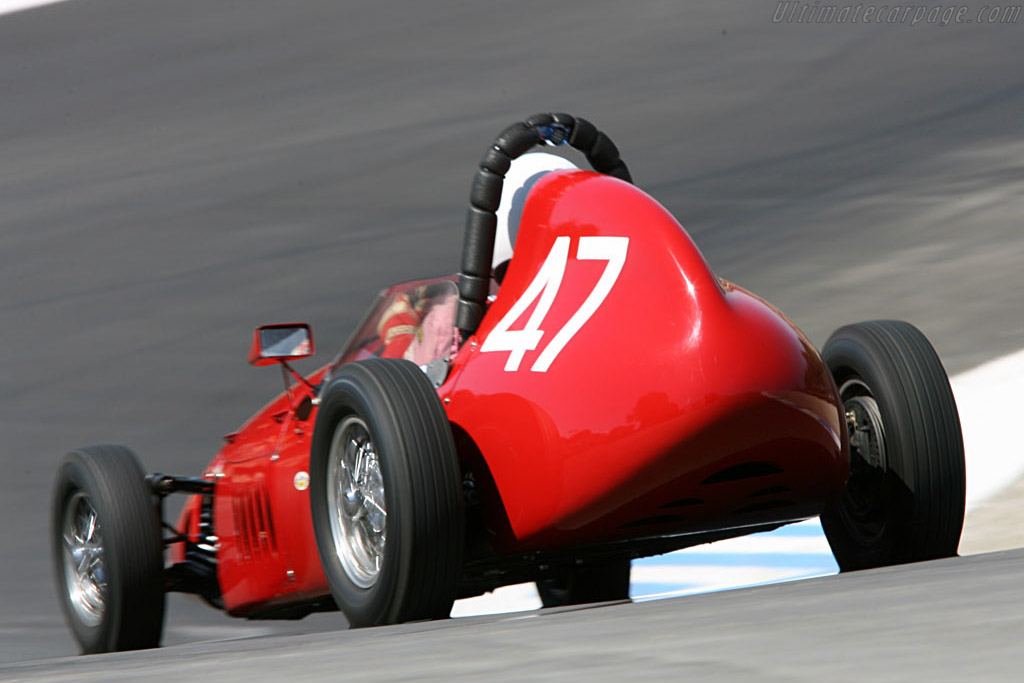 Stanguellini Formula Jnr    - 2006 Monterey Historic Automobile Races