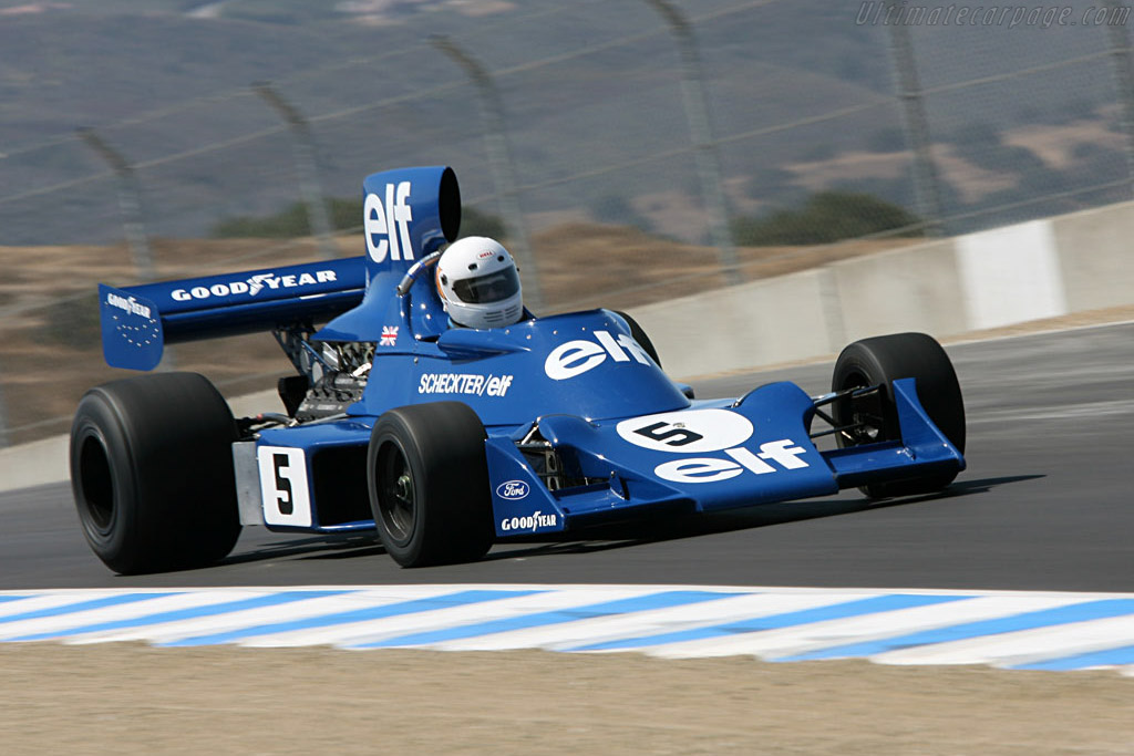 Tyrrell 007 - Chassis: 007/3   - 2006 Monterey Historic Automobile Races
