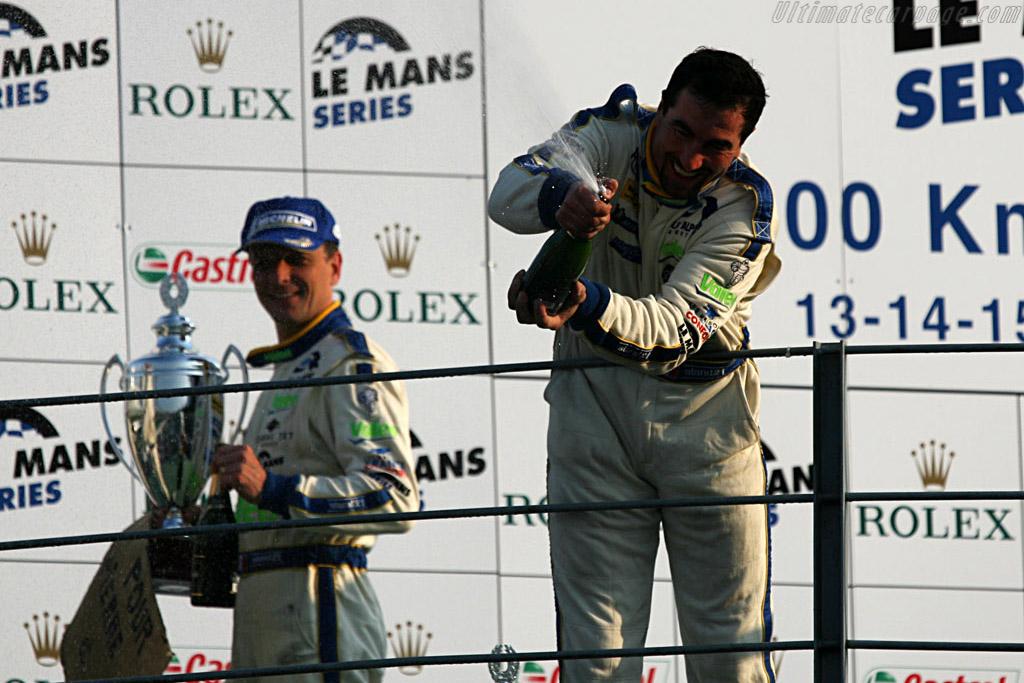 An extatic Alphand    - 2007 Le Mans Series Monza 1000 km