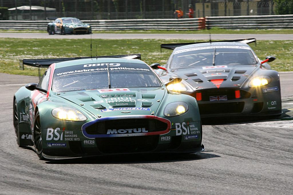 Aston Martin DBR9 - Chassis: DBR9/2 - Entrant: Aston Martin Larbre  - 2007 Le Mans Series Monza 1000 km
