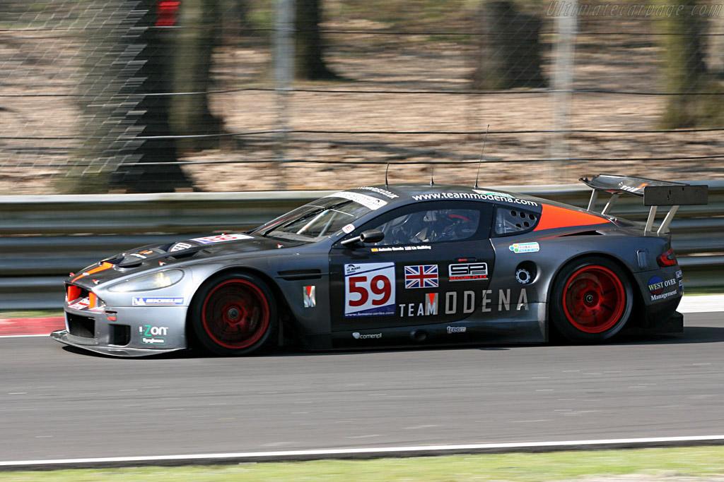 Aston Martin DBR9 - Chassis: DBR9/101 - Entrant: Team Modena  - 2007 Le Mans Series Monza 1000 km