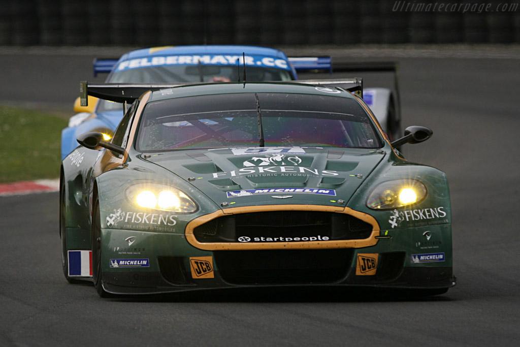 Aston Martin DBR9 - Chassis: DBR9/1 - Entrant: Aston Martin Larbre  - 2007 Le Mans Series Monza 1000 km