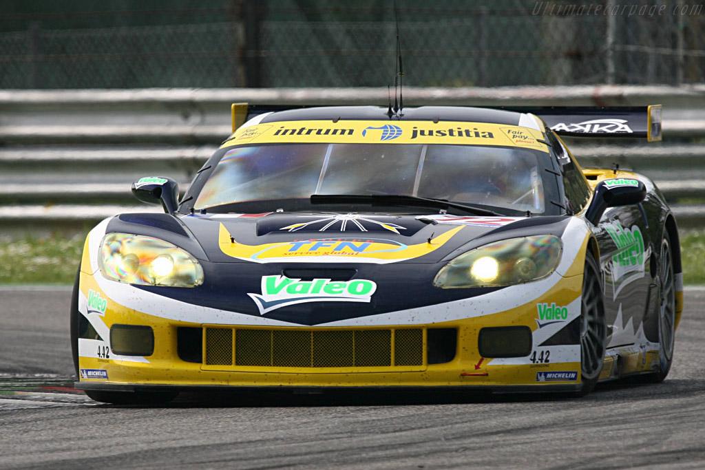 Chevrolet Corvette C6.R - Chassis: 004 - Entrant: Luc Alphand Adventures  - 2007 Le Mans Series Monza 1000 km