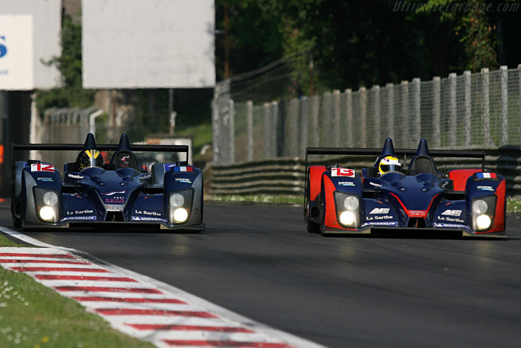 Courage LC70 AER - Chassis: LC70-3 - Entrant: Courage Competition  - 2007 Le Mans Series Monza 1000 km