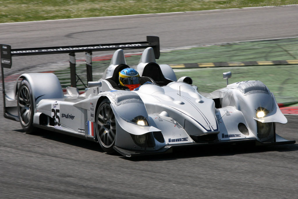 Courage LC75 AER - Chassis: LC70-2 - Entrant: Saulnier Racing  - 2007 Le Mans Series Monza 1000 km