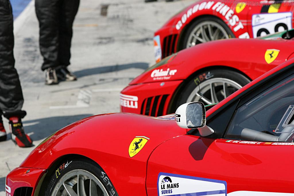 Ferrari - Chassis: 2454 - Entrant: GPC Sport  - 2007 Le Mans Series Monza 1000 km