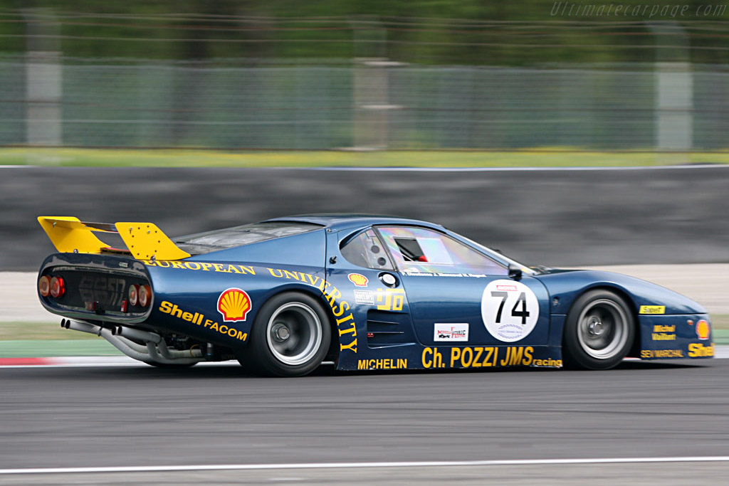 Ferrari 512 BB LM - Chassis: 32129 - Driver: Paul Knapfield  - 2007 Le Mans Series Monza 1000 km