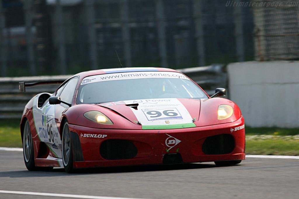 Ferrari F430 GTC - Chassis: 2408 - Entrant: Virgo Motorsport  - 2007 Le Mans Series Monza 1000 km