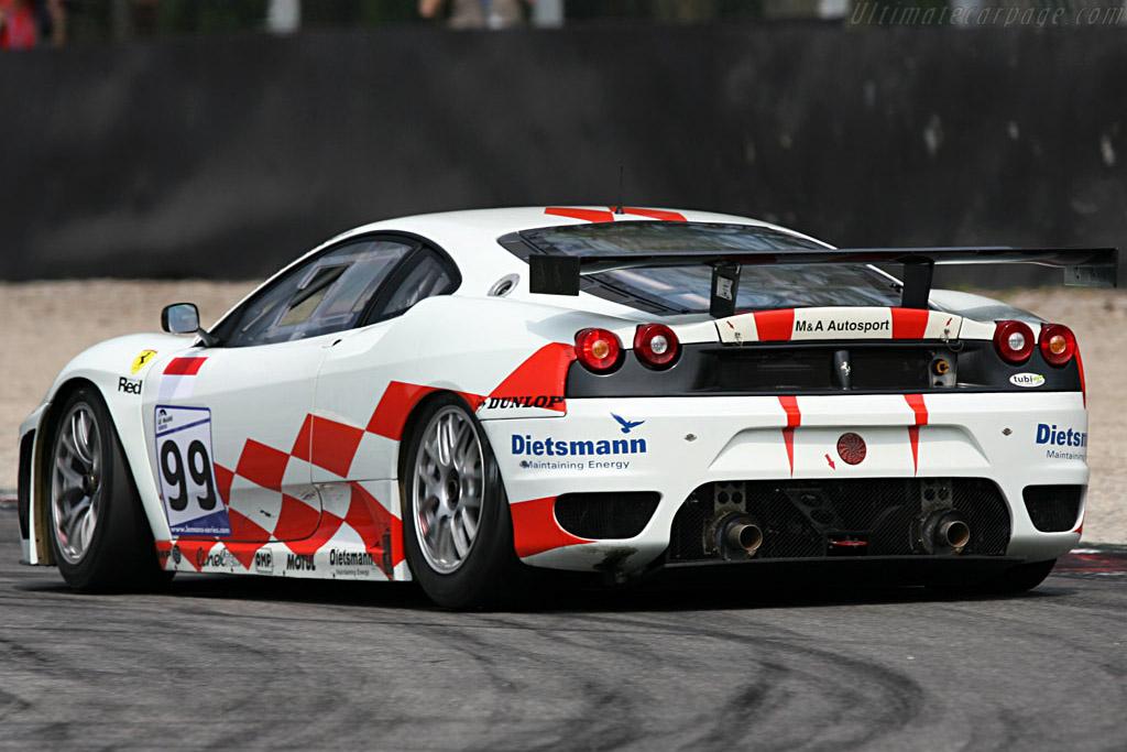 Ferrari F430 GTC - Chassis: 2450 - Entrant: JMB Racing  - 2007 Le Mans Series Monza 1000 km