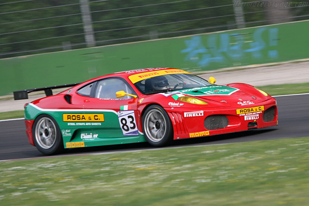 Ferrari F430 GTC - Chassis: 2402 - Entrant: GPC Sport  - 2007 Le Mans Series Monza 1000 km