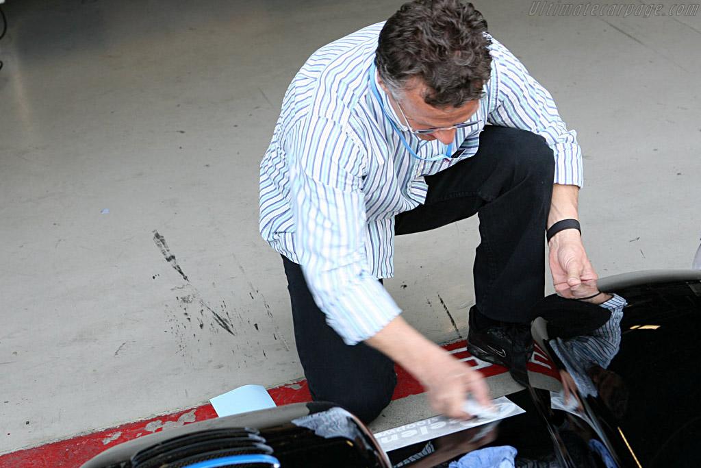 Final preparations    - 2007 Le Mans Series Monza 1000 km