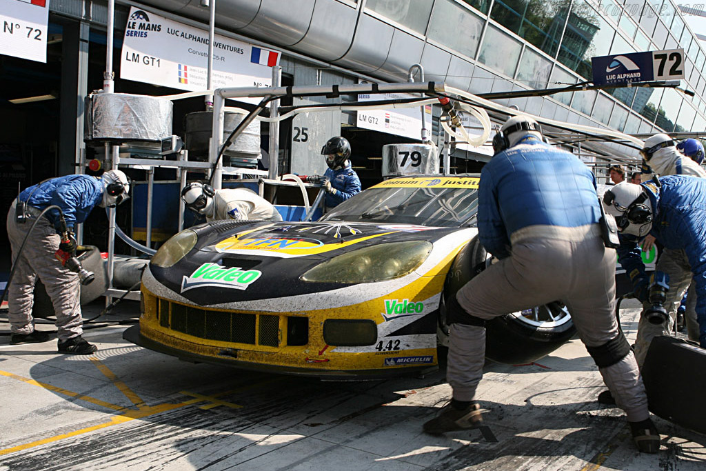 Fresh rubber - Chassis: 004 - Entrant: Luc Alphand Adventures  - 2007 Le Mans Series Monza 1000 km