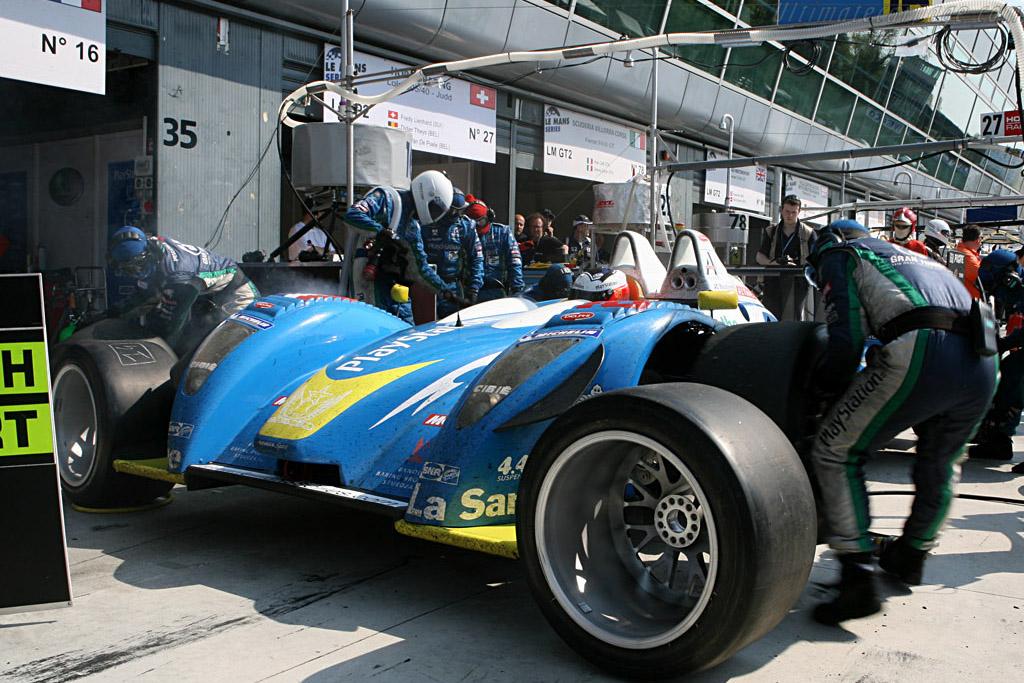 Fresh rubber - Chassis: 01-05 - Entrant: Pescarolo Sport  - 2007 Le Mans Series Monza 1000 km