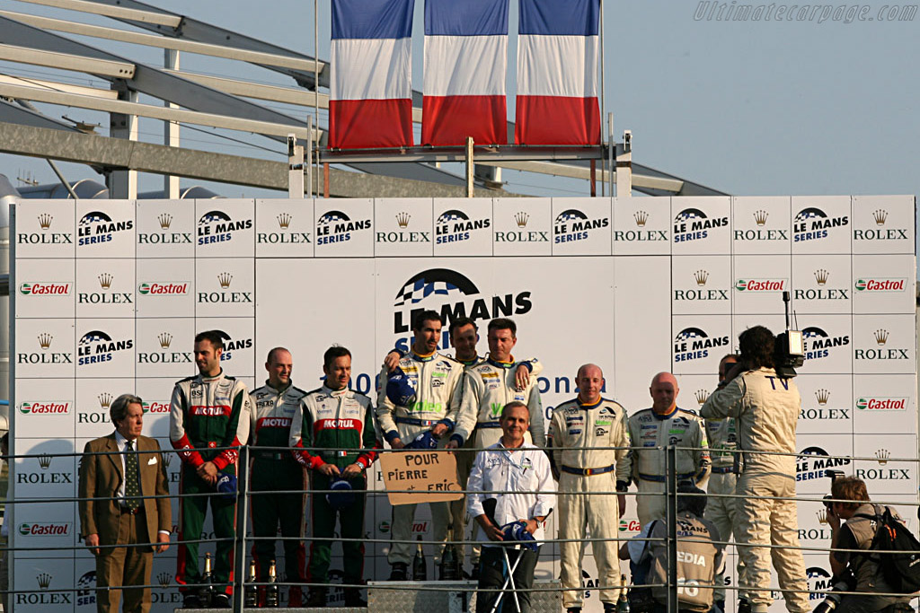 GT1 Podium     - 2007 Le Mans Series Monza 1000 km