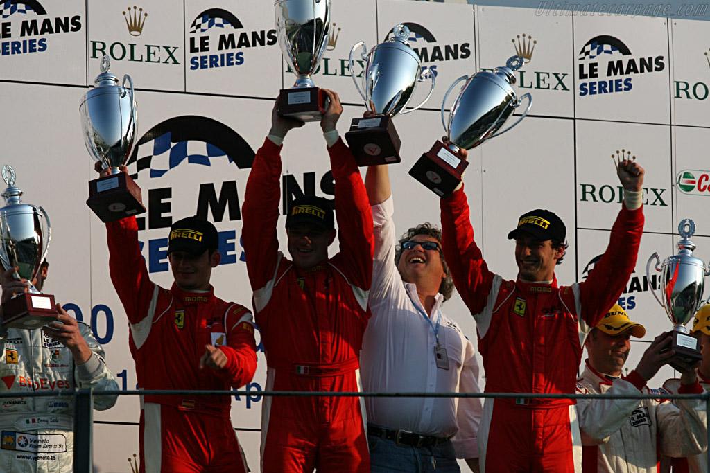 GT2 Winners    - 2007 Le Mans Series Monza 1000 km