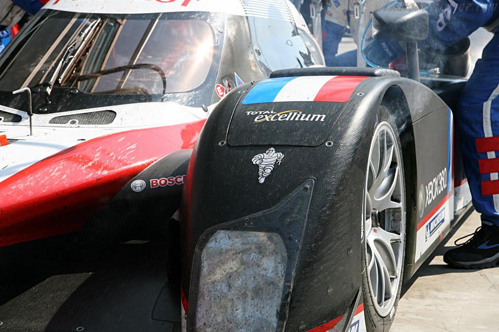 Hot discs - Chassis: 908-02 - Entrant: Peugeot Sport Total  - 2007 Le Mans Series Monza 1000 km