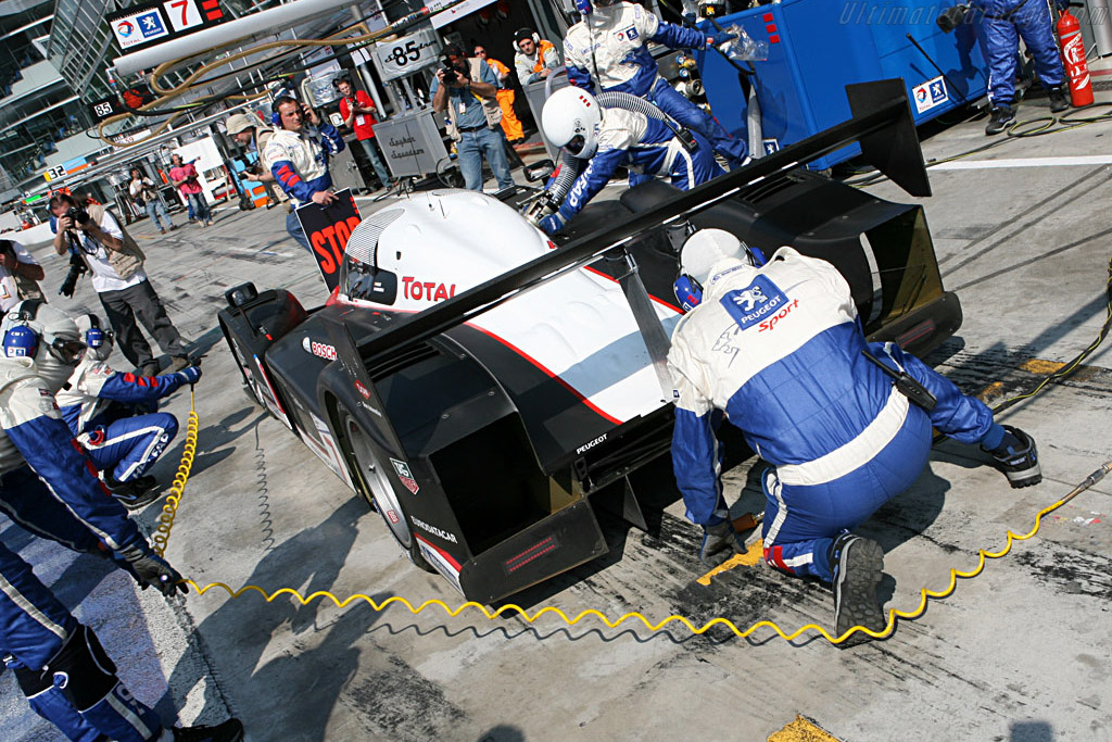In comes the diesel - Chassis: 908-02 - Entrant: Peugeot Sport Total - 2007 Le Mans Series Monza 1000 km