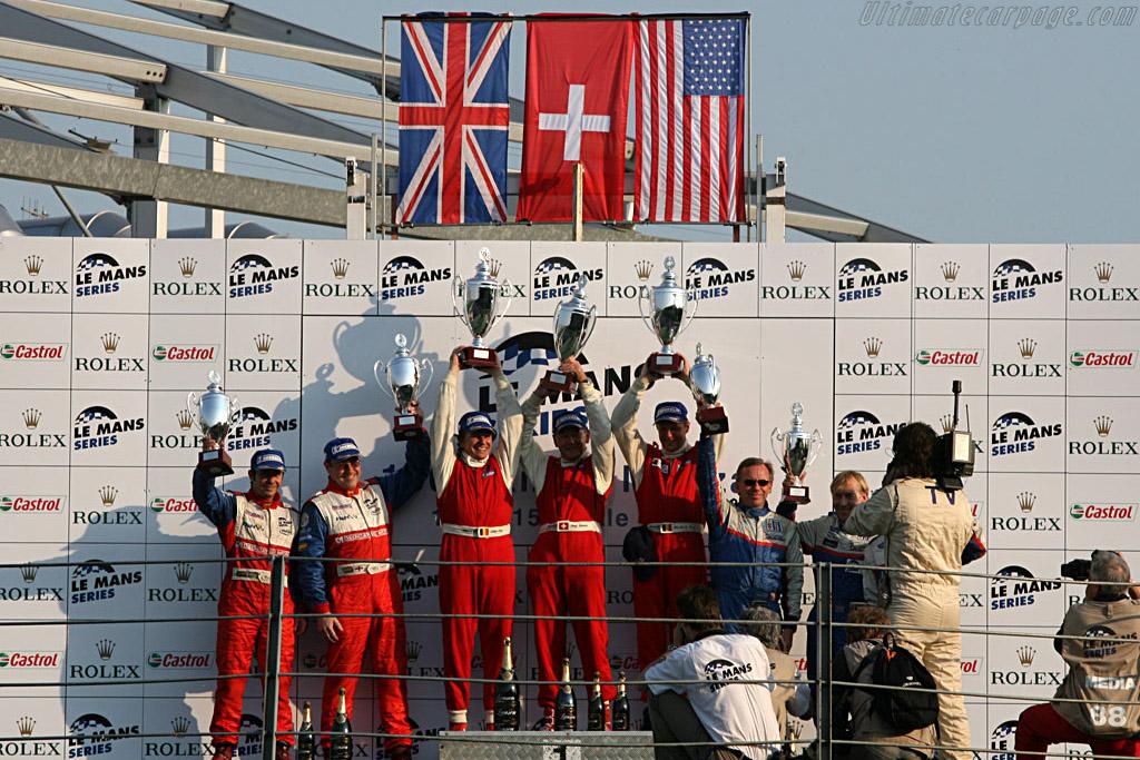LMP2 Podium    - 2007 Le Mans Series Monza 1000 km