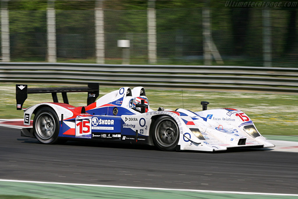 Lola B07/10 Judd - Chassis: B0610-HU03 - Entrant: Charouz Racing System  - 2007 Le Mans Series Monza 1000 km