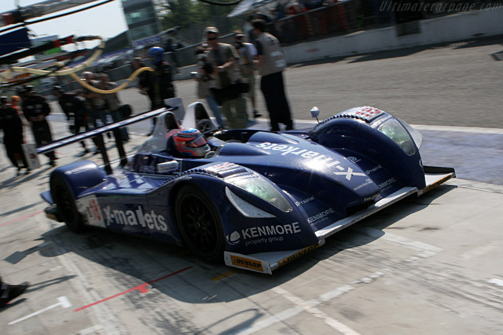 Off he goes - Chassis: 01-04 - Entrant: Rollcentre Racing  - 2007 Le Mans Series Monza 1000 km
