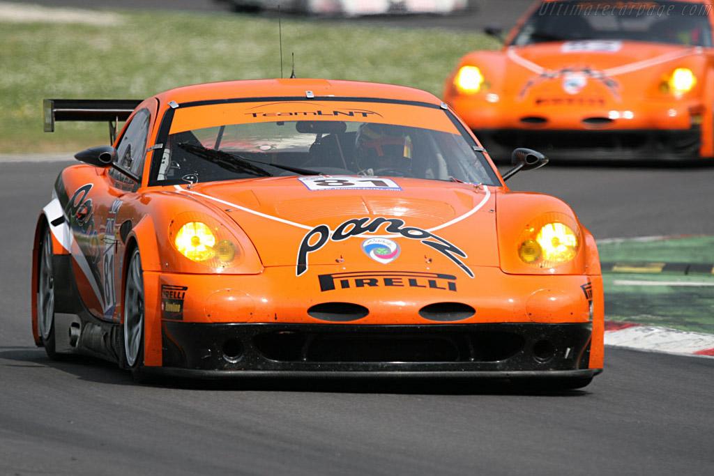 Panoz Esperante GTLM - Chassis: EGTLM 005 - Entrant: Team LNT  - 2007 Le Mans Series Monza 1000 km
