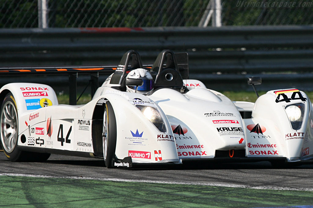 Pescarolo 01 LMP2 Judd - Chassis: 01-02 - Entrant: Kruse Motorsport  - 2007 Le Mans Series Monza 1000 km