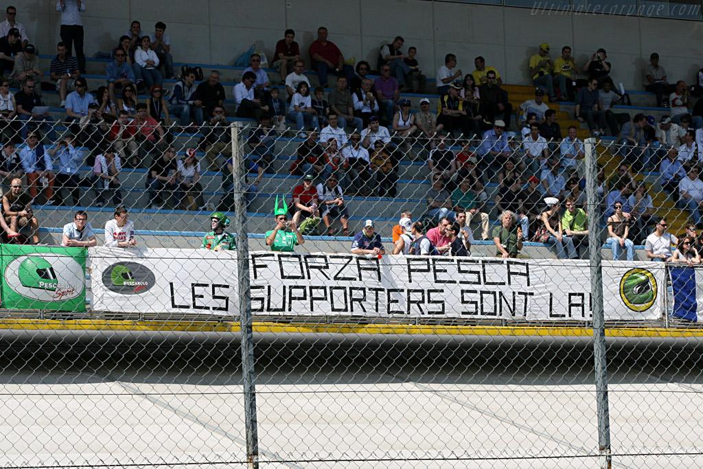Pescarolo's very loyal fans    - 2007 Le Mans Series Monza 1000 km
