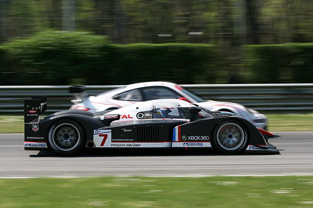 Peugeot 908 HDi FAP - Chassis: 908-02 - Entrant: Peugeot Sport Total  - 2007 Le Mans Series Monza 1000 km