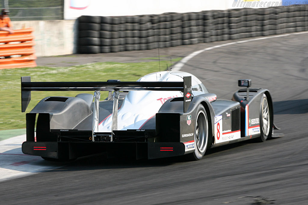 Peugeot 908 HDi FAP - Chassis: 908-03 - Entrant: Peugeot Sport Total  - 2007 Le Mans Series Monza 1000 km