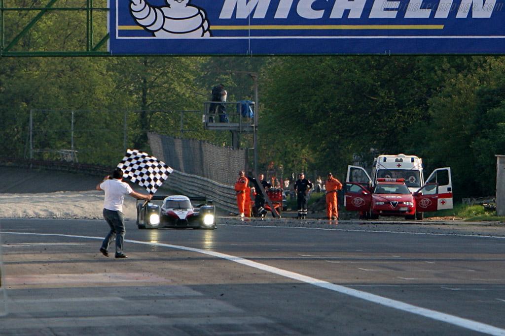 Peugeot debut win - Chassis: 908-02 - Entrant: Peugeot Sport Total  - 2007 Le Mans Series Monza 1000 km