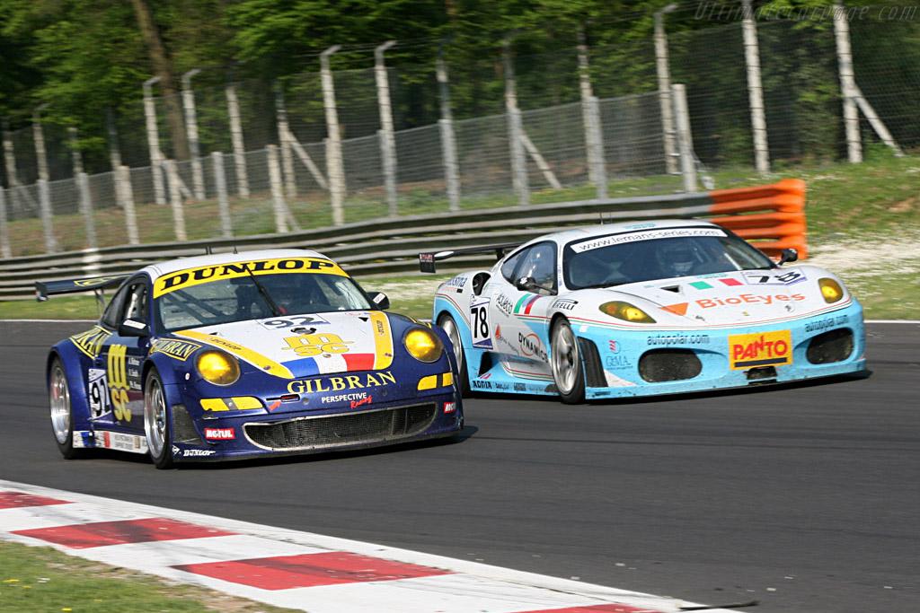 Porsche 997 GT3 RSR - Chassis: WP0ZZZ99Z7S799917 - Entrant: Thiery Perrier  - 2007 Le Mans Series Monza 1000 km