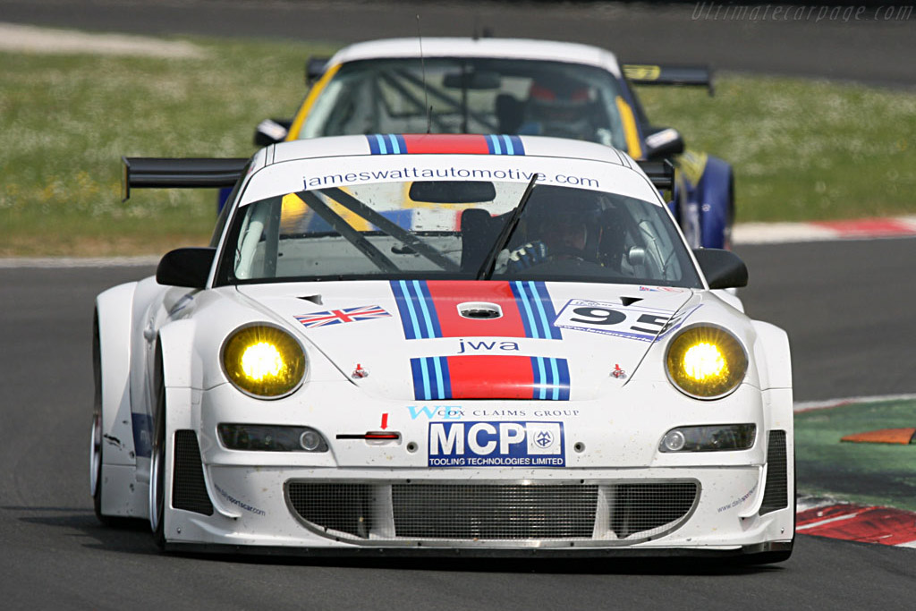 Porsche 997 GT3 RSR - Chassis: WP0ZZZ99Z7S799932 - Entrant: James Watt Automotive  - 2007 Le Mans Series Monza 1000 km