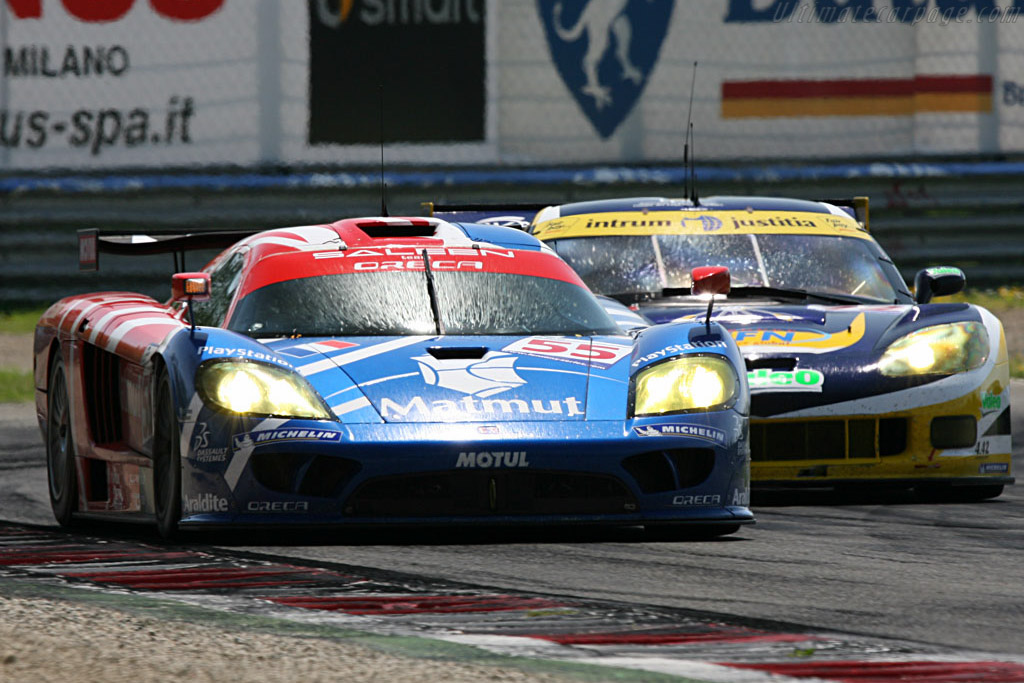 2007 Saleen S7 >> Saleen S7R - Chassis: 066R - Entrant: Team Oreca - 2007 Le Mans Series Monza 1000 km