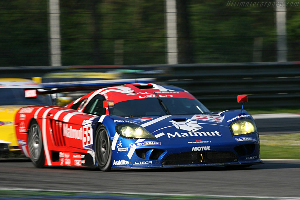 Saleen chased by the Corvettes - Chassis: 066R - Entrant: Team Oreca  - 2007 Le Mans Series Monza 1000 km
