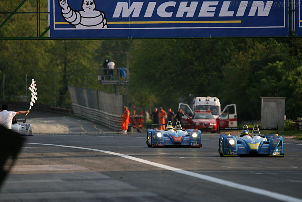 Second and fourth - Chassis: 01-05 - Entrant: Pescarolo Sport  - 2007 Le Mans Series Monza 1000 km