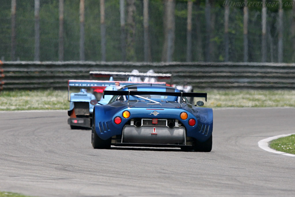 Spyker C8 Spyder GT2 R - Chassis: XL9AB01G97Z363193 - Entrant: Speedy Racing Team  - 2007 Le Mans Series Monza 1000 km
