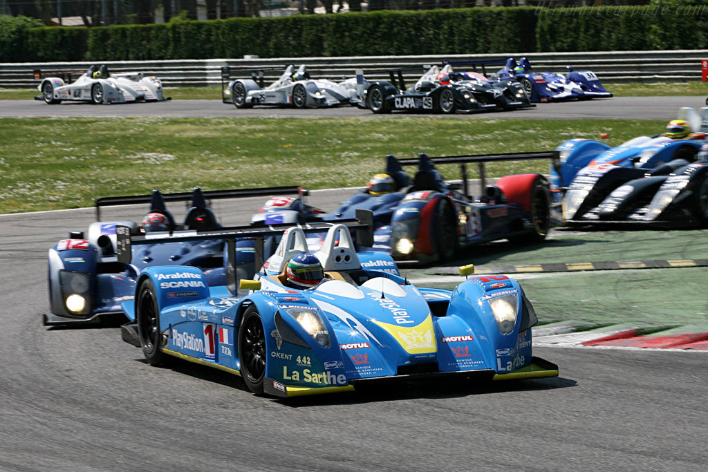 The Start - Chassis: 01-05 - Entrant: Pescarolo Sport  - 2007 Le Mans Series Monza 1000 km