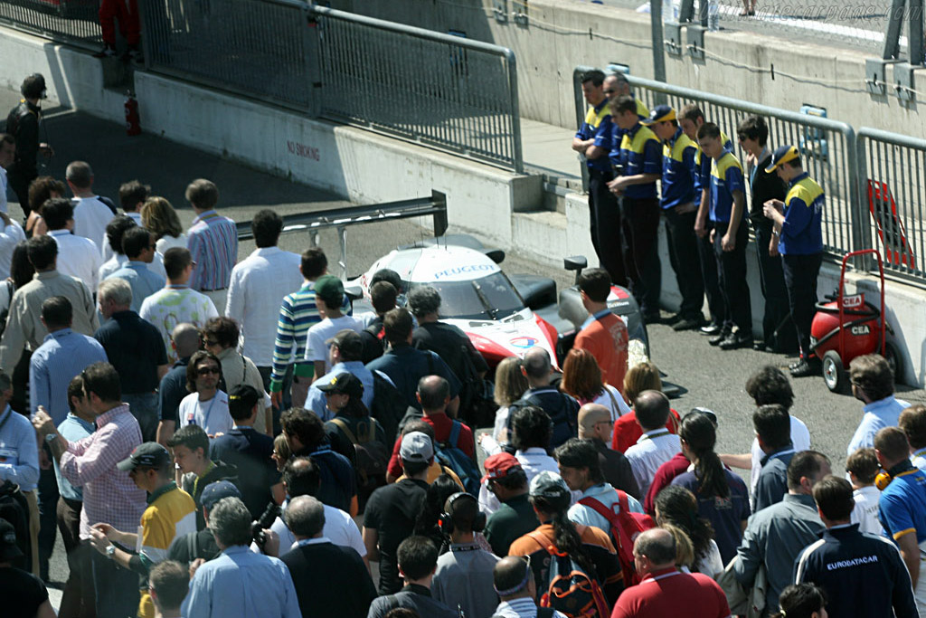 The poorly timed pit-walk    - 2007 Le Mans Series Monza 1000 km