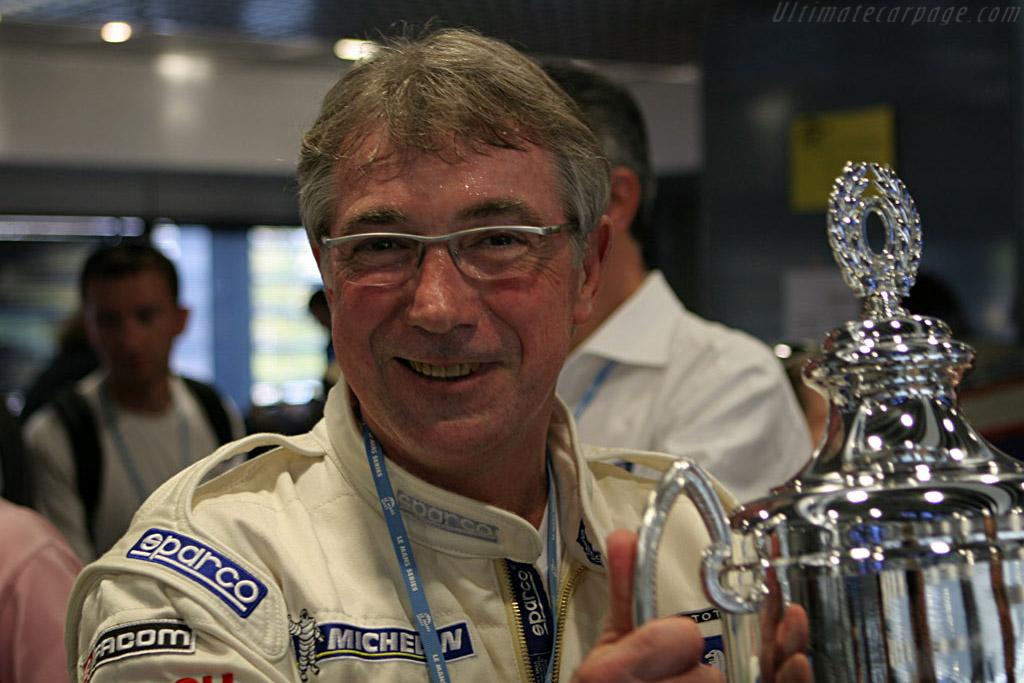 The winner's trophy    - 2007 Le Mans Series Monza 1000 km