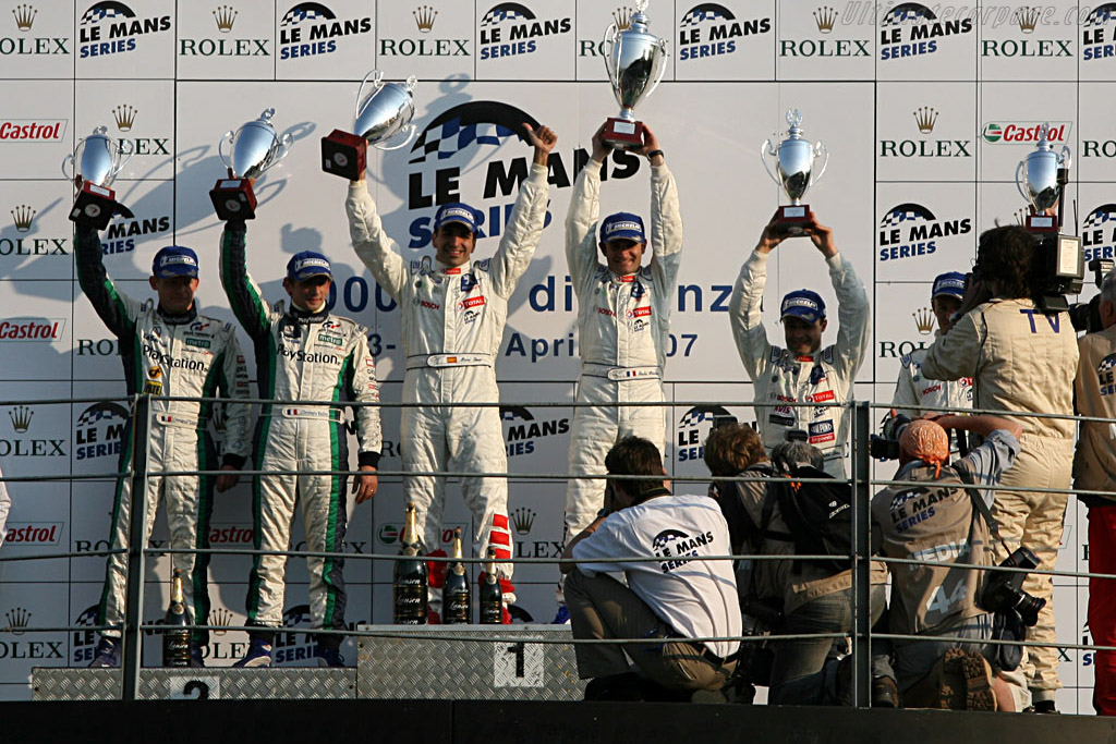 The winners    - 2007 Le Mans Series Monza 1000 km