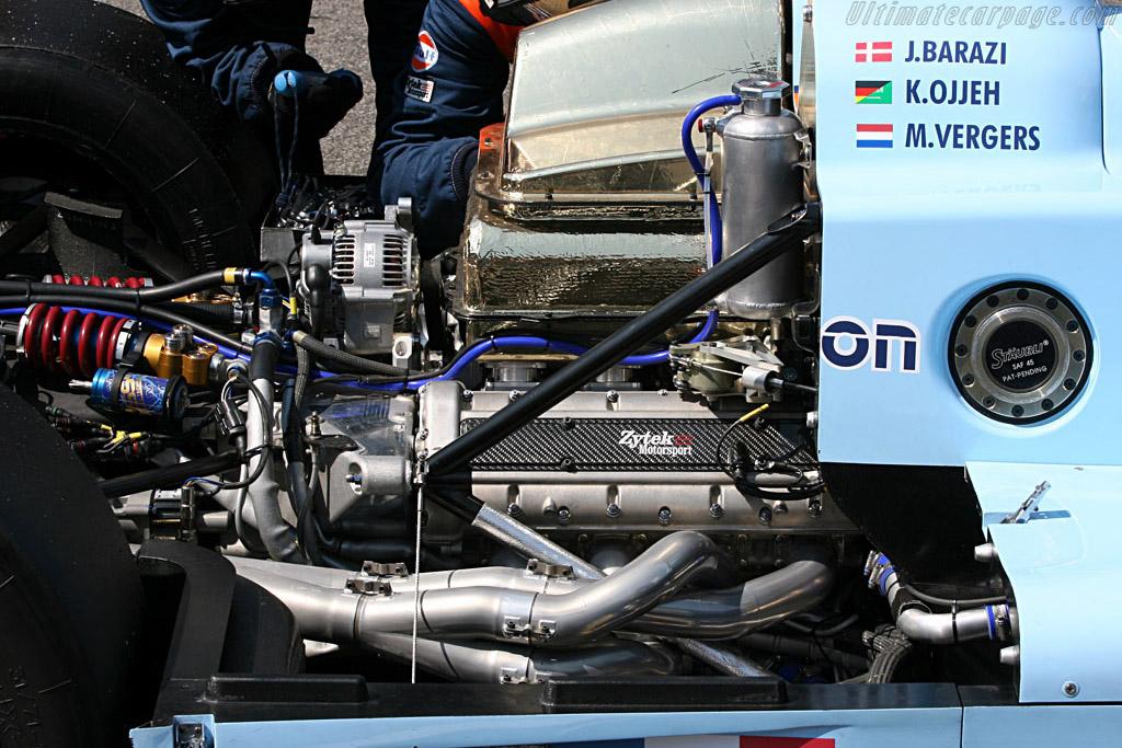 Zytek in big trouble - Chassis: 07S-01 - Entrant: Barazi Epsilon  - 2007 Le Mans Series Monza 1000 km